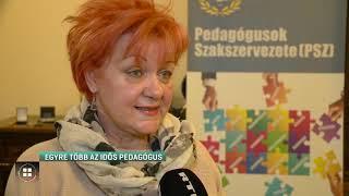 Egyre több az idős pedagógus 20-01-14