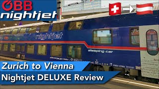 NIGHTJET Deluxe between Zürich and Vienna ; The famous double decker sleeping coach