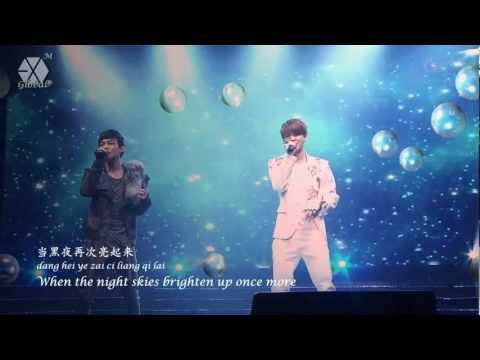 [ENG/HD] 120331 EXO-M Showcase Baby Don't Cry Live (LU HAN CHEN)