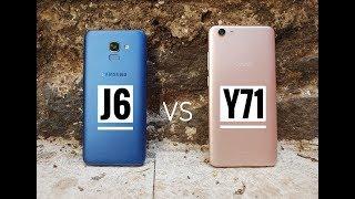 Samsung Galaxy J6 vs Vivo Y71 Comparison Review !