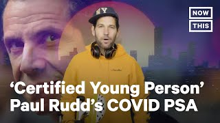 Paul Rudd Sends COVID-19 PŠA to Millennials & Gen Z | NowThis