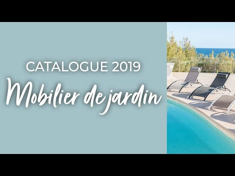 collection ozalide mobilier de jardin