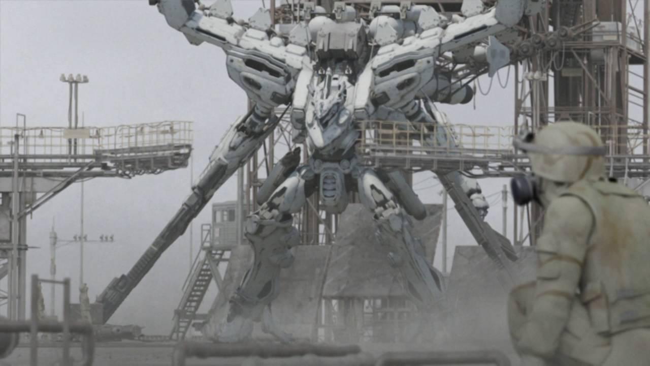 C97コミケのコスプレエリアに登場したアーマードコア ホワイト
