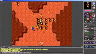 How to rope lootbags in tibia 7.4 and below