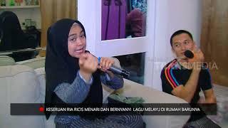 Gaya Unik Ria Ricis Menyanyi Lagu Melayu