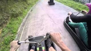cwx luge challenge at skyline rotorua