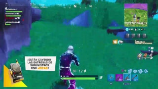 PLAYING WITH THE SKIN GALAXIA WITH SUBS FORTNITE #184