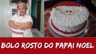 BOLO ROSTO DO PAPAI NOEL