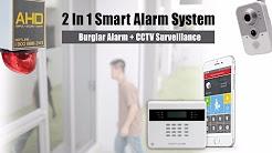 SMART ALARM - 2 in 1 burglar alarm with CCTV System