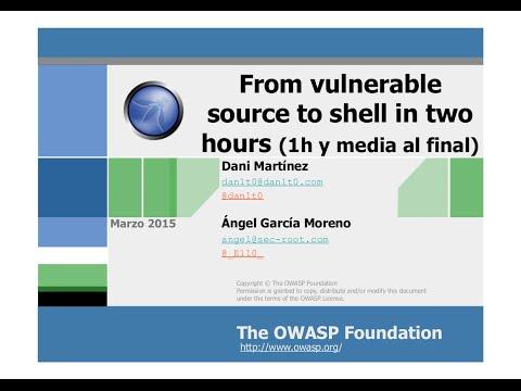 I Evento de OWASP Madrid Chapter