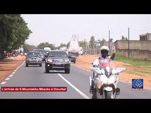 l'arrivée de Cheikh Mountakha Mbacke à Diourbel