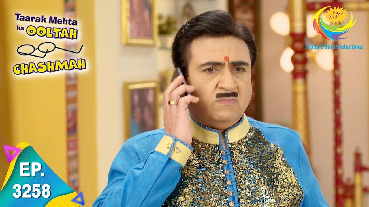 Download Taarak Mehta Ka Ooltah Chashmah - Ep 3258 - Full Episode - 21st September 2021