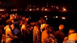 Файер-шоу на Купалье в Молодечно  06.07.2016г.