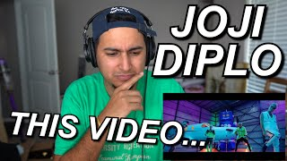 "JOJI X DIPLO - ""DAYLIGHT"" FIRST REACTION!! 