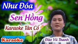 Như Đóa Sen Hồng Karaoke Tân Cổ | Nghệ Sĩ Đào Vũ Thanh ✔