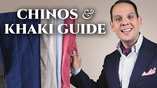 Chinos & Khaki Pants Guide For Men