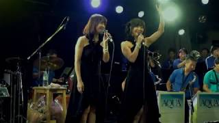 Opening & Ending  リリーズ  with  AQUA  Jazz  Orchestra  Guest per. チーチョ西野:2018 9/8 at 神戸チキンジョージ