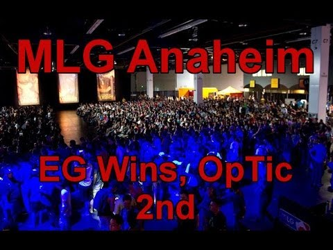 MLG Anaheim RESULTS - EG Wins, OpTic Gaming 2nd, TCM Take Third (Call of Duty: Ghosts)