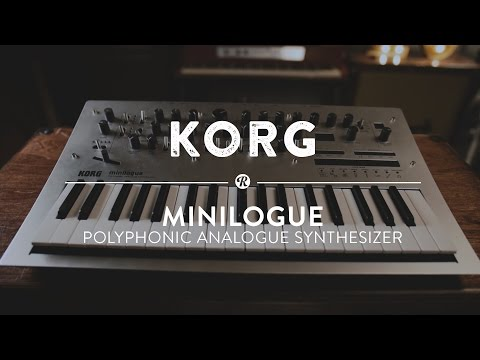 Korg Minilogue Analogue Polyphonic Synthesizer | Reverb Demo Video