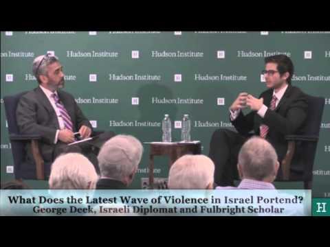 Amb. George Deek analysis of the Israeli-Palestinian conflict