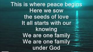 One Family Under God (song)