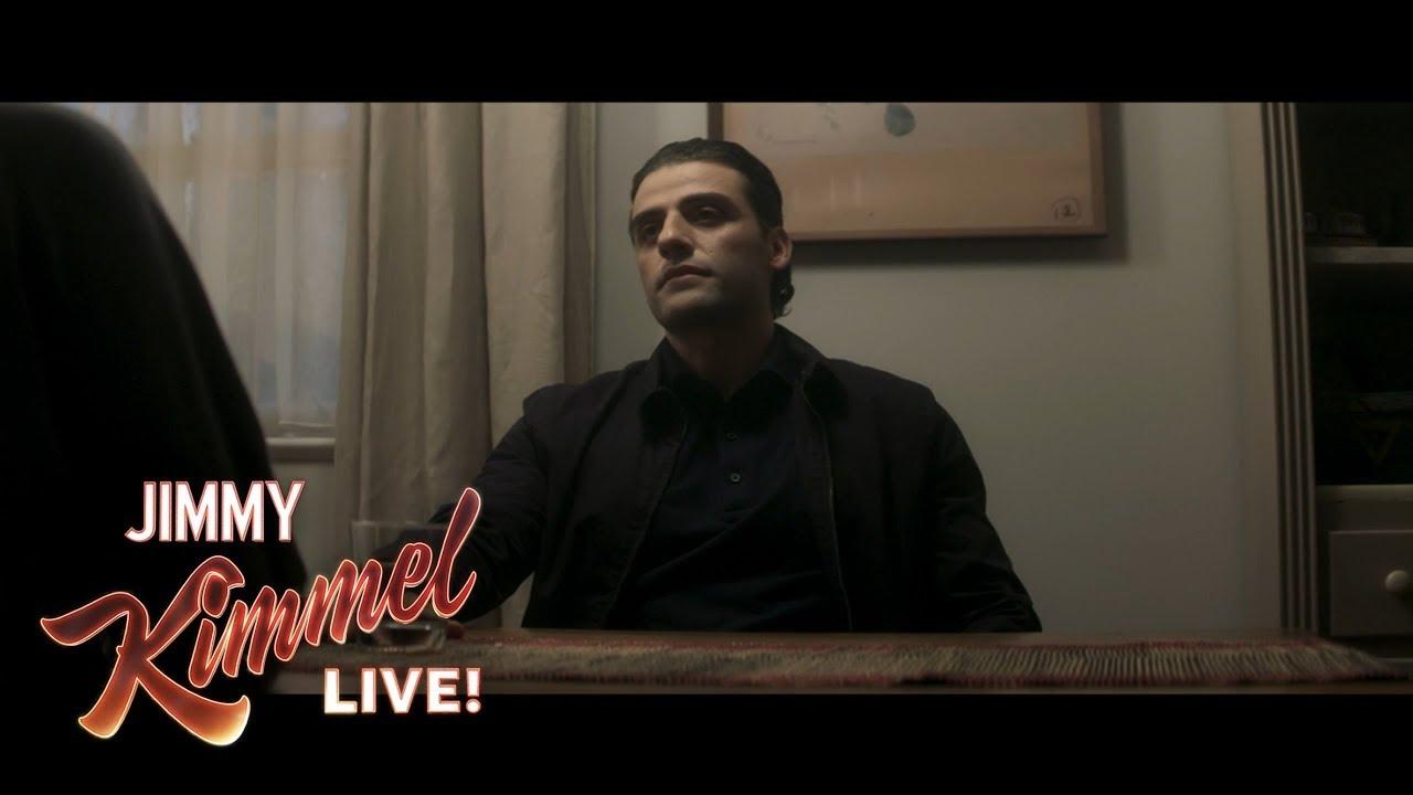 Oscar Isaac on Last Jedi & Annihilation