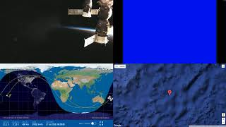 Sunset Around Australia - NASA/ESA ISS LIVE Space Station With Map - 27 - 2018-07-16