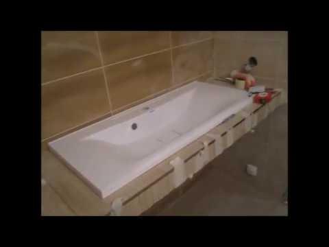 Ремонт ванной комнаты ,в частном доме 3 серия,нецензура,ФИНАЛ,умывальник из мозайки своими руками,