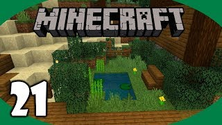 Minecraft Loom, Banners, and Garden! | Minecraft Survival Let's Play | Episode 21