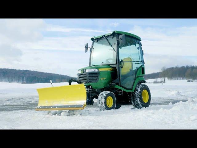 Minitractor X950R - Utilización invernal