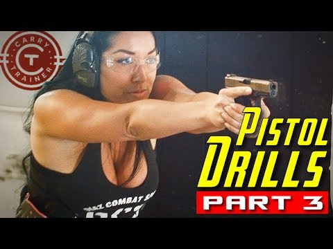Pistol Drills Part 3 with Embrace the Recoil, Ro EDC and Tracy Lee 4k