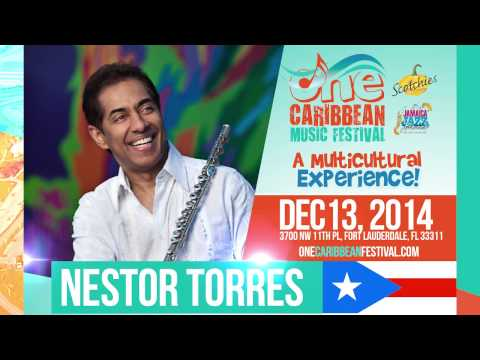 Nestor Torres @ ONE Caribbean Music Festival, Dec. 13 2014