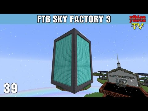 FTB Sky Factory 3 39 - 1 Million RF Per Tick