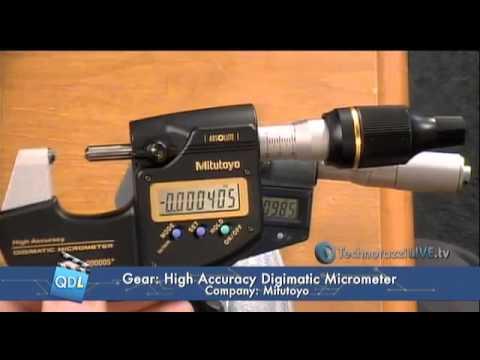 Mitutoyo America's 0 1 μm High Accuracy Digimatic Micrometer