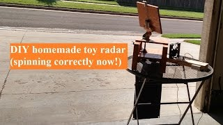 Diy Homemade Wooden Toy Radar (part 2)