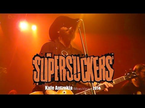 SUPERSUCKERS in Kafe Antzokia Bilbao,Vizcaya, Spain on Sunday September 21st, 2014