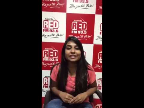 RJ Dixi from RED FM 93.5 wishes AACA Media Awards 2015!