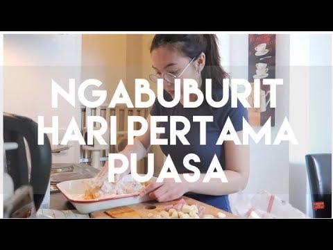 NGABUBURIT PUASA HARI PERTAMA | VLOG #19