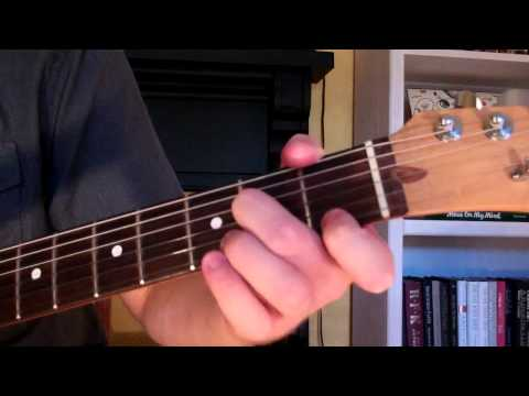 How To Play the Dm6 Chord On Guitar (D minor sixth) 6th