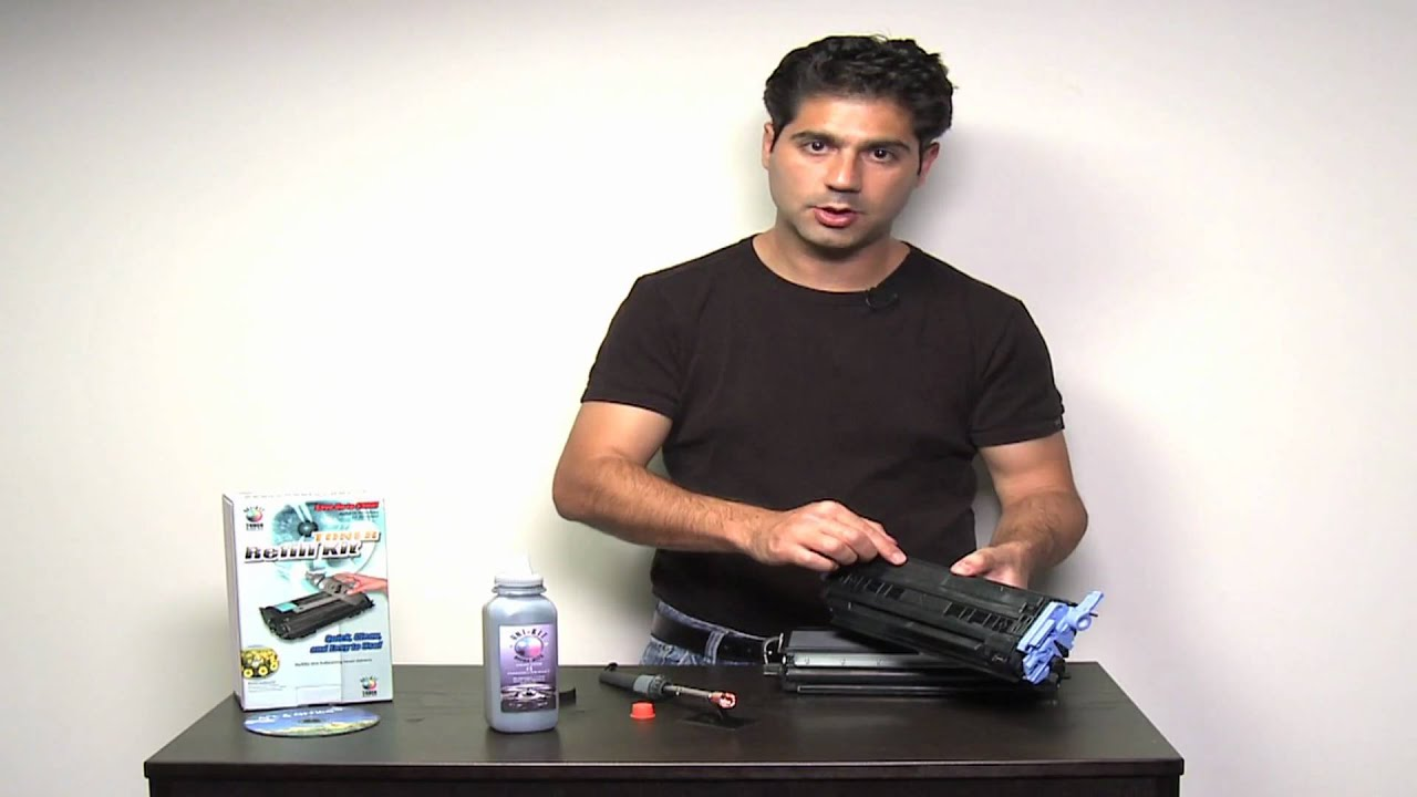 Toner Refill Kit Instructions - how to refill laser toner cartridges using  toner refills