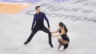 민유라 & 알렉산더 겜린 (KOR) Yura MIN & Alexander GAMELIN   SD   2017-02-16 4CC Ice Dance
