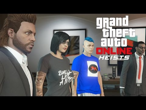 GTA 5 Online PS4 Multiplayer Gameplay - GTA Online - GTA 5 Heist - Prison Break - Station/Wet Work