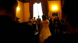 Mr and Mrs Rankin's Wedding Ceremony :)