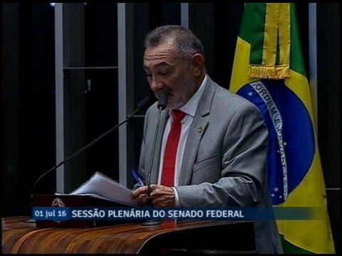 Telmário Mota critica recondução de Romero Jucá à segunda vice-presidência do Senado