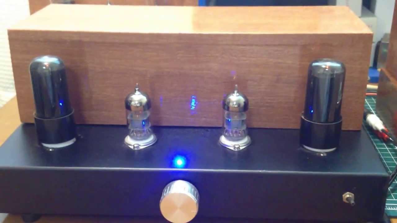 6V6 single tube amplifier SRPP driving