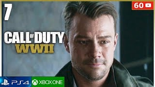 CALL OF DUTY WW2 Mision 7 PS4 Gameplay Español   Campaña Completa Parte 7 (1080p 60fps)