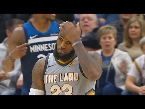 LeBron James Scared to Shoot the Shot then Trusts Himself and Hits Game Winner to Beat Timberwolves!