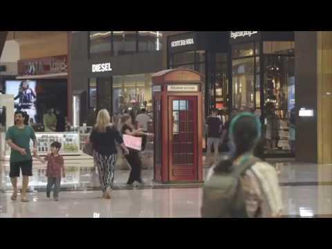The Dubai Mall Interactive Telephone Booth