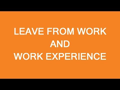 Leave from work and work experience for immigration to Canada. LP Group