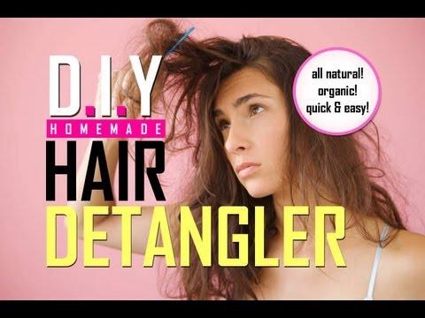 How To Make Detangler For Natural Hair